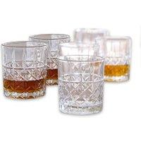 LOBERON Whiskeyglas 6er Set Ramon, klar (9cm)