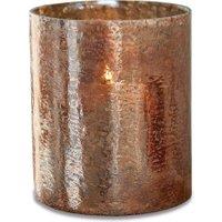 LOBERON Windlicht Crookstown, braun (23cm)