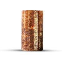LOBERON Windlicht Keel, orange (25cm)