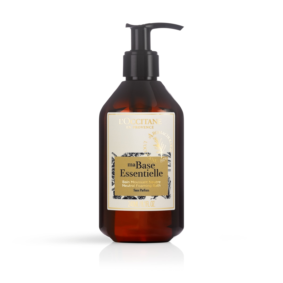 Ma Base Essentielle - Neutrales Schaumbad - 240 ml - L'Occitane en Provence