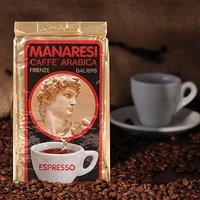 Manaresi Espresso Miscela Oro macinato 250g gemahlen