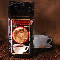 Manaresi Espresso Super Bar Brown, Bohnen