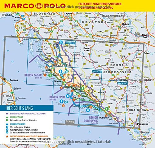 MARCO POLO Reiseführer Kroatische Küste Dalmatien: Reisen mit Insider-Tipps. Inklusive kostenloser Touren-App & Update-Service - 2