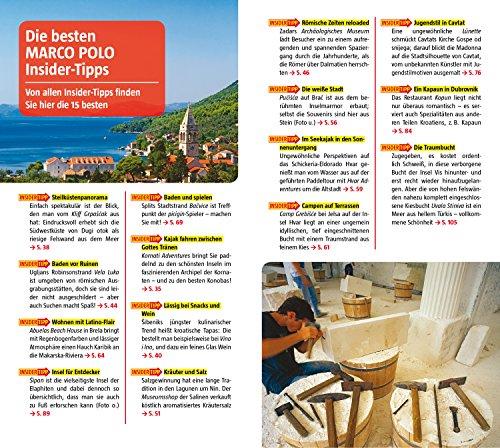 MARCO POLO Reiseführer Kroatische Küste Dalmatien: Reisen mit Insider-Tipps. Inklusive kostenloser Touren-App & Update-Service - 5