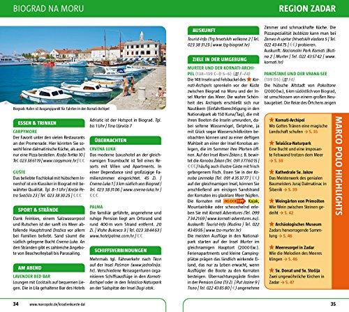 MARCO POLO Reiseführer Kroatische Küste Dalmatien: Reisen mit Insider-Tipps. Inklusive kostenloser Touren-App & Update-Service - 6