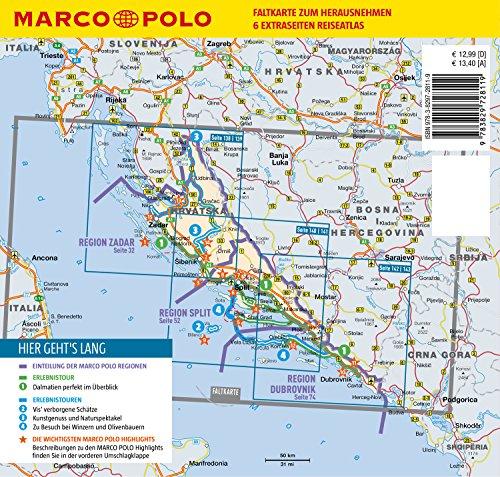 MARCO POLO Reiseführer Kroatische Küste Dalmatien: Reisen mit Insider-Tipps. Inklusive kostenloser Touren-App & Update-Service - 8