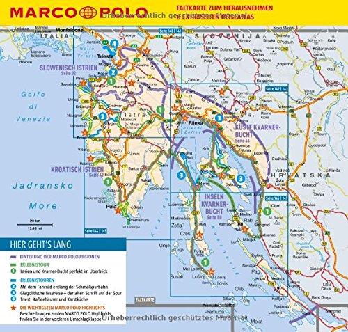 MARCO POLO Reiseführer Kroatische Küste Istrien, Kvarner: Reisen mit Insider-Tipps. Inklusive kostenloser Touren-App & Update-Service - 2