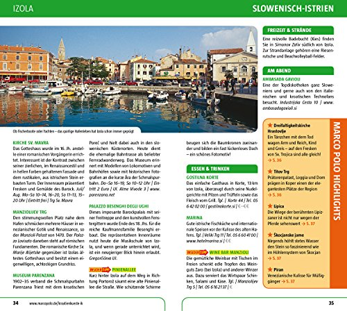 MARCO POLO Reiseführer Kroatische Küste Istrien, Kvarner: Reisen mit Insider-Tipps. Inklusive kostenloser Touren-App & Update-Service - 6