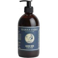 Marius Fabre Savon Noir Schwarze Olivenöl Flüssigseife Allzweckseife 500ml