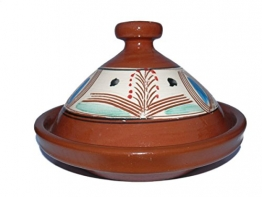 Marokkanische Tajine zum Kochen Ø 35 cm für 3-5 Personen - 1