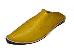 Marrakech Accessoires Orientalische Leder Schuhe Pantoffeln Hausschuh Slipper - Herren, Schuhgrösse:46 - 1