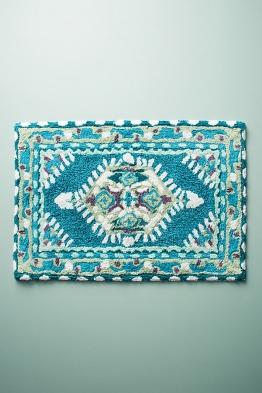 Meze Badematte, blaugrün - Turquoise