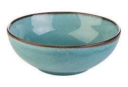 Müslischale Dessertschale Salatschüssel NATURE COLLECTION 3 | Steinzeug | Blau | Ø 16,5 cm - 1