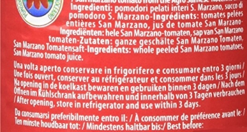 Mutti San Marzano D.O.P. Schältomaten, 6er Pack (6 x 400 g) - 4