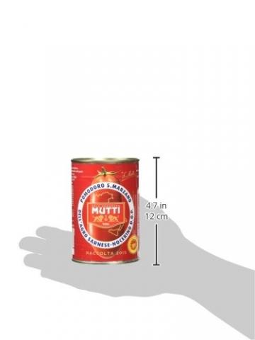 Mutti San Marzano D.O.P. Schältomaten, 6er Pack (6 x 400 g) - 6