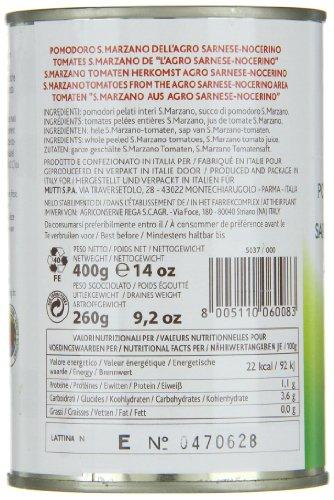 Mutti San Marzano D.O.P. Schältomaten, 6er Pack (6 x 400 g) - 7