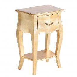 Nachttisch Louis gold, 45 × 30 × 65 cm