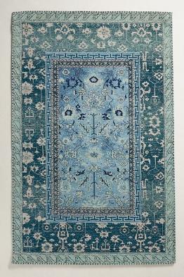 Noreena Teppich - Blue Green