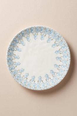Oleanna Teller - Blue Motif