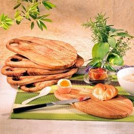 Olivenholz-Frühstücksbrett, klein