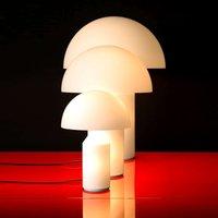 Oluce Atollo - Muranoglas-Tischleuchte, 35 cm