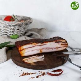 Pancetta BIO vom schwarzen Schwein