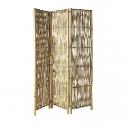 Paravent aus Bambus