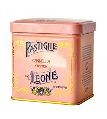 Pastiglie Leone - Pastillen mit Zimt in Vintage Metalldose 130gr - 1