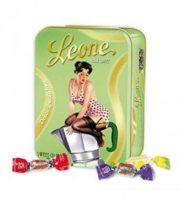 Pastiglie Leone - Süßigkeiten und Fruchtpasta in Espresso-Dose 100gr - 1