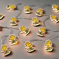 PEANUTS LED Papierlichterkette Woodstock 20 Lichter