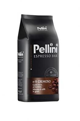 Pellini Caffè Cremoso No. 9, Bohne, 1er Pack (1 x 1 kg) - 1