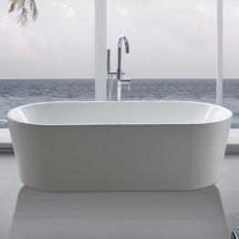 """perfect-spa Freistehende Badewanne """"Madrid"""" Wanne inkl. Ab- und Überlauf - 1"""