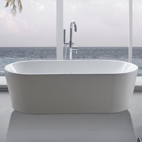 freistehende badewanne madrid inkl ab und berlauf kaufen. Black Bedroom Furniture Sets. Home Design Ideas