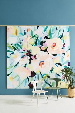 Picturesque Tapete mit Blumendesign - Mint