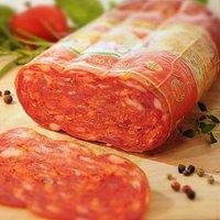 Pikante Spianata-Salami - am Stück