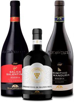 Probierpaket Premium Weine aus Apulien