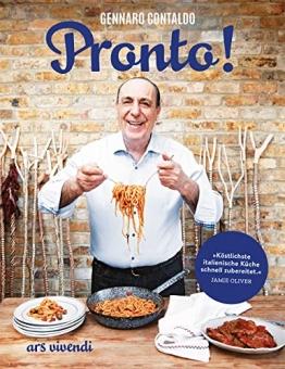 Pronto! - Die schnelle italienische Küche - Italienisches Kochbuch mit schnellen und authentischen Rezepten - 1