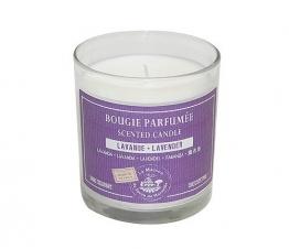 Provence Duftkerze im Glas Lavande (Lavendel) 140g