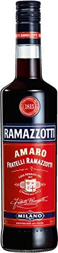 Ramazzotti Amaro / Der italienische Digestif mit 33 verschiedenen Kräutern / Absacker mit perfekter bittersüßen Note / 1 x 0,7 L - 1