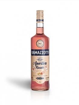 Ramazzotti Aperitivo Rosato / Der italienische Aperitif mit fruchtig-frischer Note / Ideal für Longdrinks oder Cocktails / 1x 1L - 1