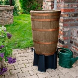 Regentonne Barrique-Weinfass mit Zubehör, 120 Liter