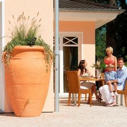 Regenwassertank Amphore 360 Liter, terracotta