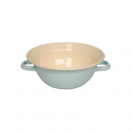 Riess Classic Bunt - Pastell Weitling Mini Türkis 22 cm / 2,0 Ltr / aus Emaille Classic Bunt - Pastell 0598-006 Rührschüssel - 0598-006