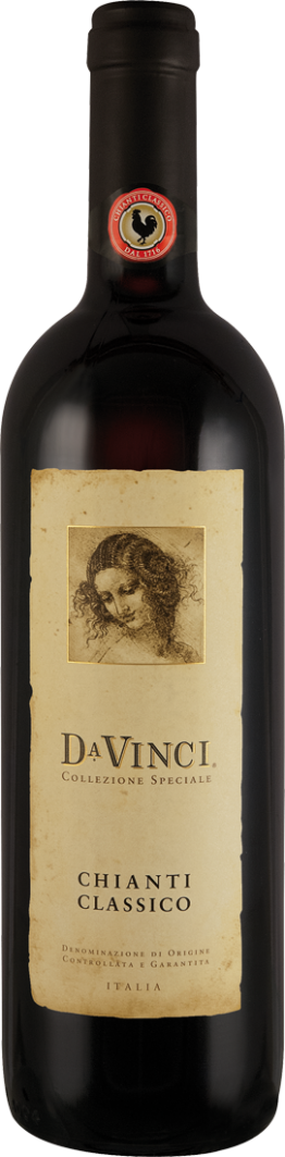 Rotwein Cantine Leonardo Da Vinci Da Vinci Chianti Classico Collezione Speciale DOCG Toskana 15,99€ pro l