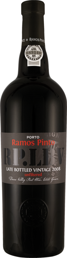 Rotwein Ramos Pinto Late Bottled Vintage - unfiltered Douro 25,32€ pro l