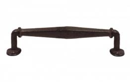 Rustikaler Griff Schubladengriff Möbelgriff Gusseisen Antik-Braun 27cm
