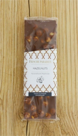 Schokolade Hazelnuts Haselnuss FrischeParadies
