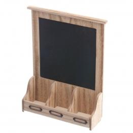 Schreibtafel aus Holz 30x10x41cm, 30 × 10 × 41 cm