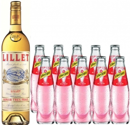 Schweppes Russian Wild Berry Set mit Lillet Blanc