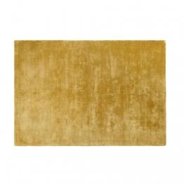 Senffarbener getufteter Teppich 140x200